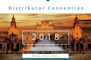 Upcoming 23-25 May 2018 European Distributor Convention