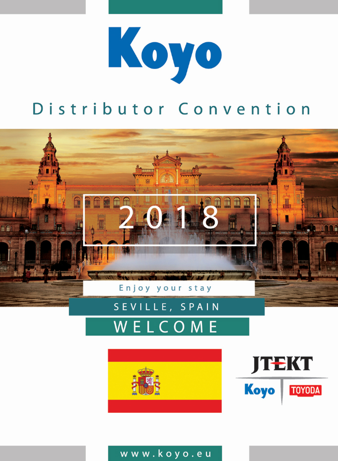 Koyo Seville Convention 2018