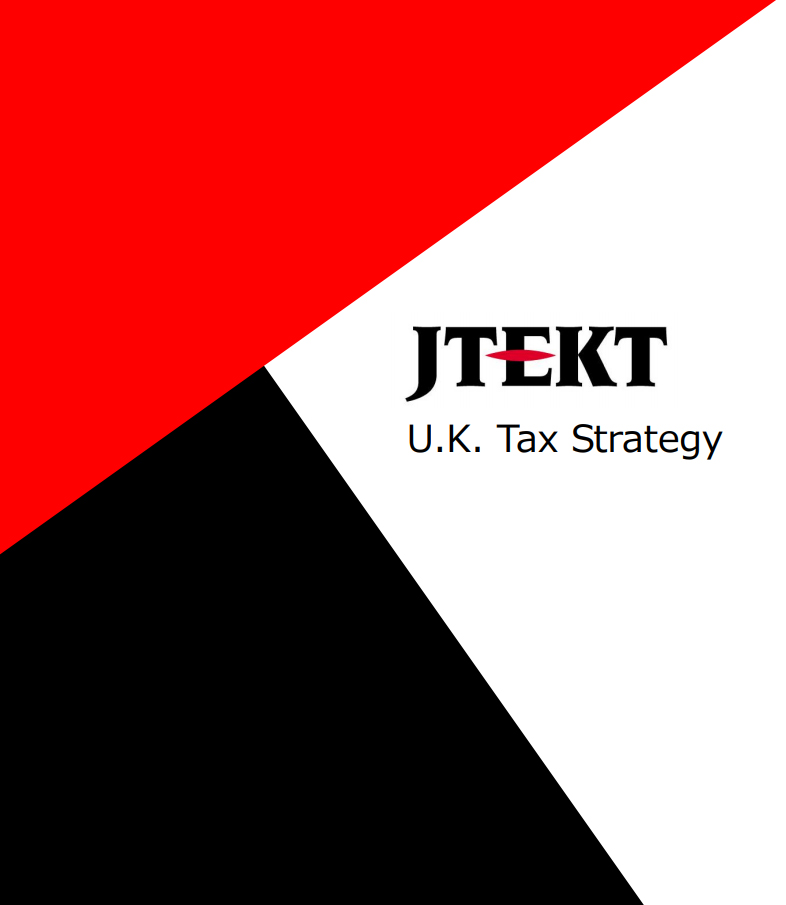 JTEKT UK Tax announcement